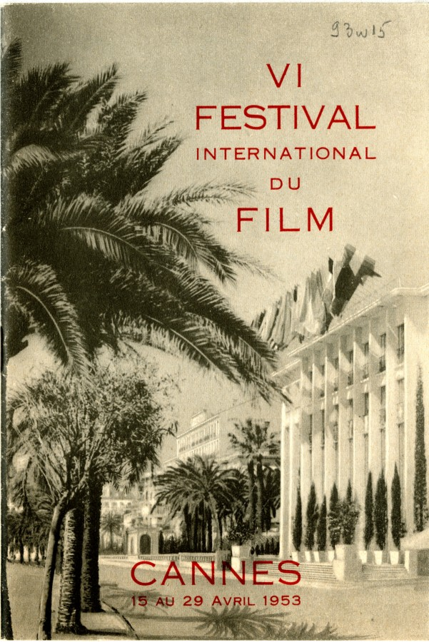 Festival International du Film, programme de 1953 (93W15).jpg