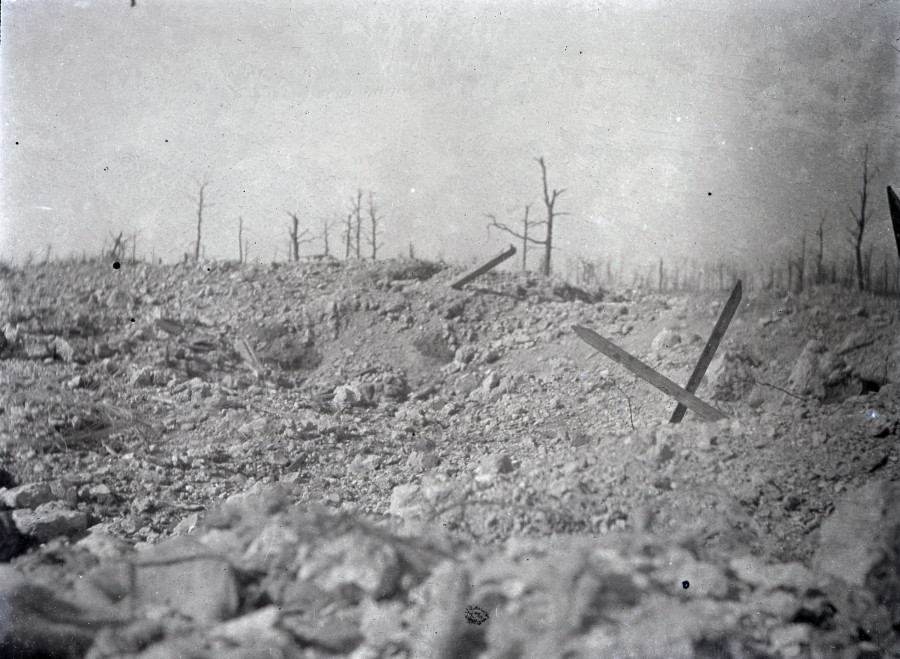 No man's land, période 1914-1918