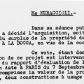 D�lib�ration municipale pour la construction d'un groupe scolaire Avenue Michel Jourdan. 1960 (90W13)