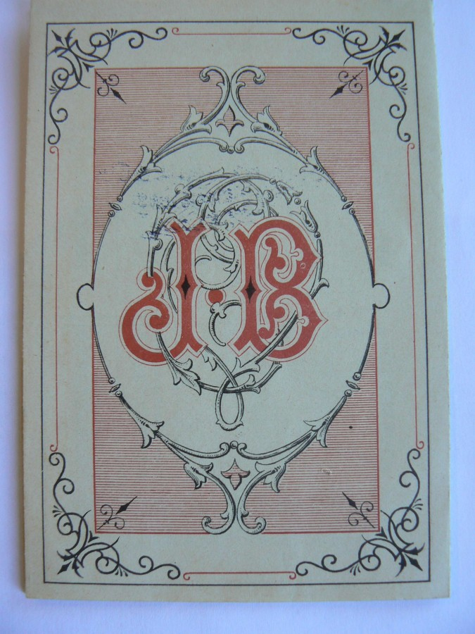 Monogramme JB du verrier (source : AD06)