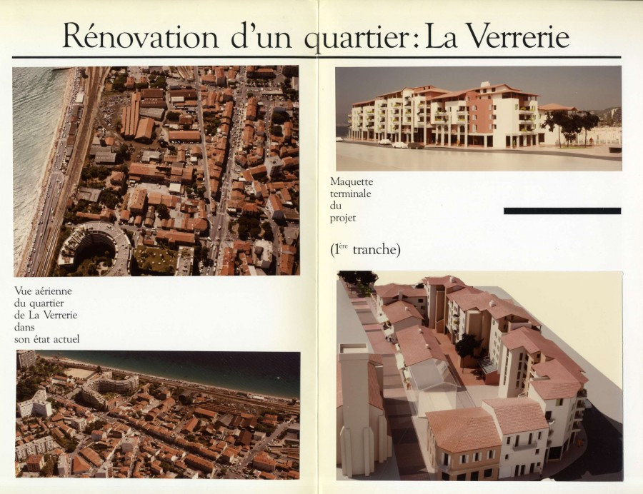 Rénovation du quartier 1985-1986 (AMC 519W116)
