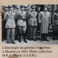L'occupation italienne - L'�tat-major du g�n�ral Vercellino, brochure Pays d'Azur, 1943 (4H60)