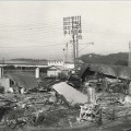 Photographie des destructions de La Bocca. 1943 (13Fi238)