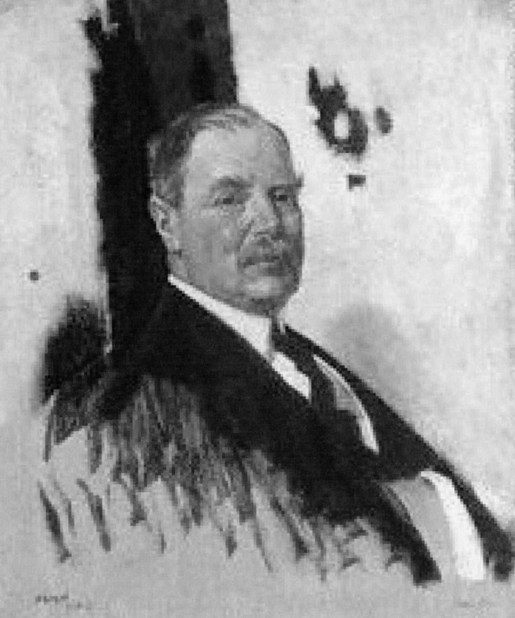 Lord Derby (reproduction d'une oeuvre de W. Orpen, 1919)